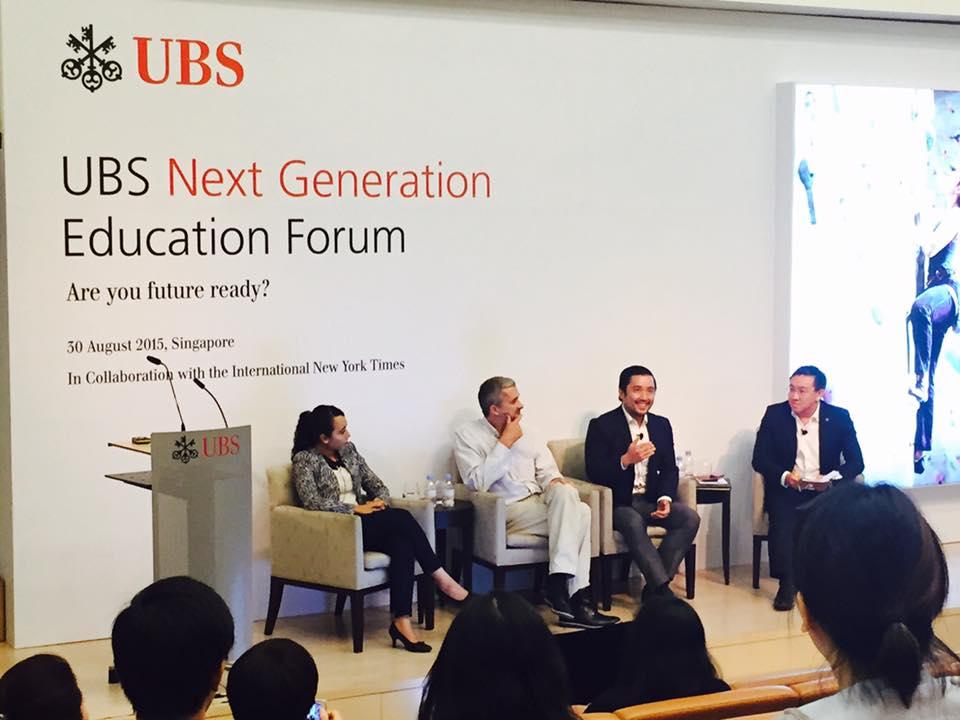 Next Generation Forum With Ubs In Singapore Aegis Advisors